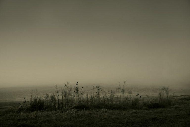 fog mist minimal landscape photography