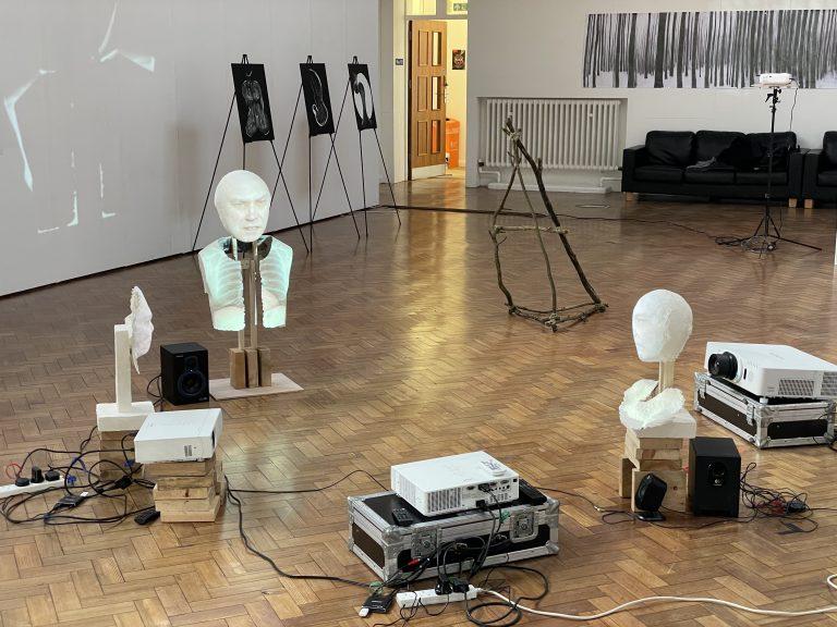 installation based on Carl Gustav Jung's archetypes, art art installation