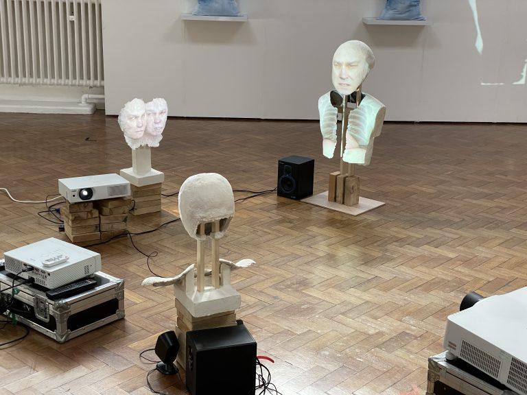 Art installation based on Carl Gustav Jung theories
